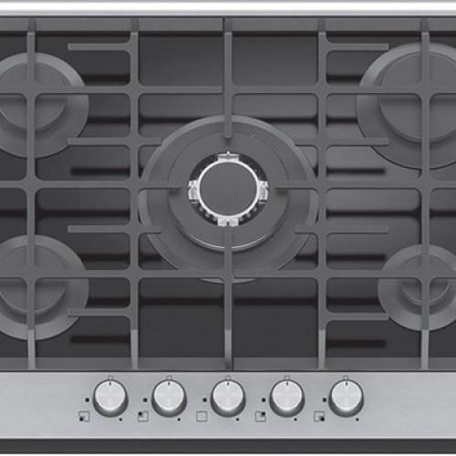 Vinola 7210-01 70 Cm WOK Alüminyum Eloksal Panelli Siyah Cam Ankastre Ocak