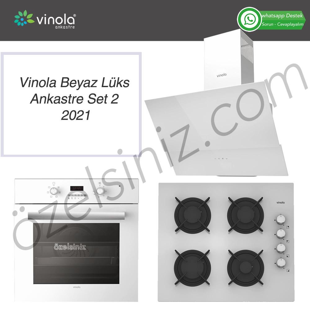 Vinola Beyaz Lüks Ankastre Set 2021