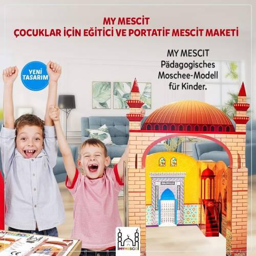 Çocuklar için Namazı Sevdiren Karton Mescit Maketi