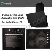 Vinola Siyah Lüks Ankastre Set 2020 -- set kodu : Plusset12